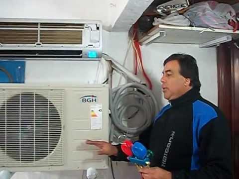 Aire acondicionado split r410a como envasar gas en el for Aire acondicionado aparato exterior