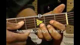 Keb Mo CITY BOY Blues Guitar Lesson How To Play On Guitar / Cover Fingerstyle