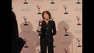 Lily Tomlin back stage at Creative Arts Emmys 2013