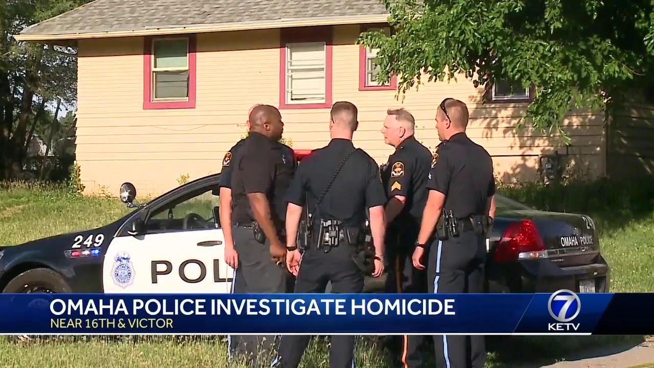 Omaha police investigate homicide near 16th, Victor