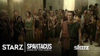 Spartacus | Gods of the Arena - Batiatus Presents His Champion, Gannicus | STARZ