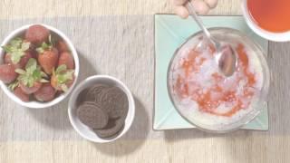 3 Langkah Mudah Resep Istimewa Oreo - Es Campur Oreo