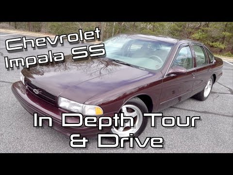 1995 Chevrolet Impala SS: Start Up, Test Drive & In Depth Tour