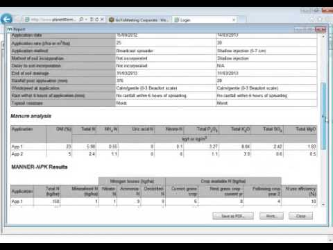 Using the new Manner NPK software - Webinar brought to you by AHDB Dairy