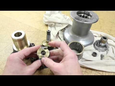 Barlow 22 Winch Maintenance