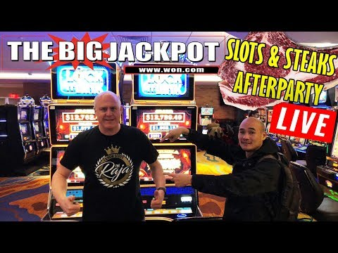 🎰 Slots and Steaks 🥩 after party Live Slot Play 💣