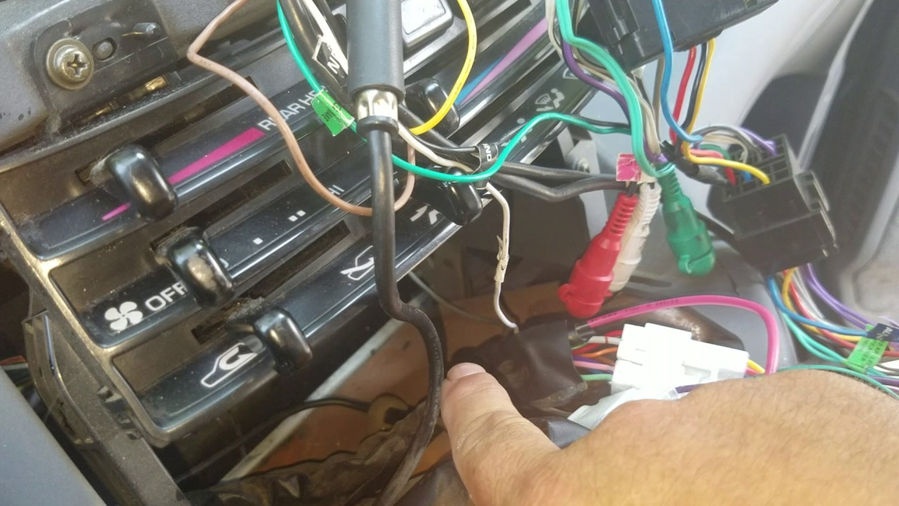 small resolution of previa radio wiring wiring diagram note toyota previa wiring harness