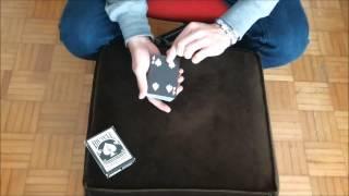 Haunted Deck & Black Magic Trick | Mazzo Stregato & Magia Carta Nera Bicycle Reversed Back