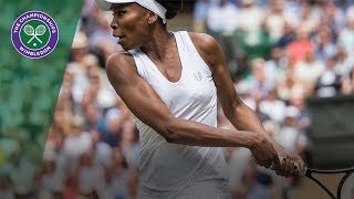 Venus Williams v Johanna Konta highlights - Wimbledon 2017 semi-final