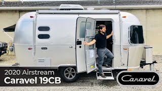 2020 Airstream Caravel 19CB Walk Through Small Light Weight Camping RV Travel Trailer