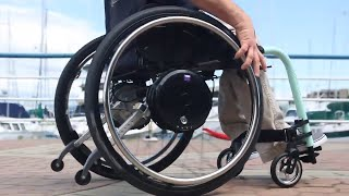 Spinergy ZX-1 vs. Alber Twion Wheels | Wheelchair Accessories | Power Assist Devices