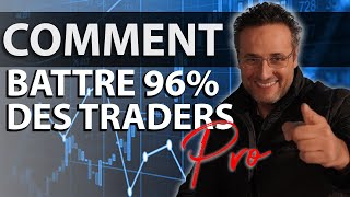 Investir en Bourse : comment battre 96 % des Traders pro avec cette simple astuce ?