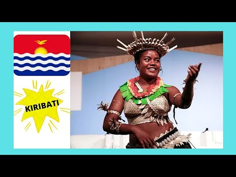 KIRIBATI, traditional DANCING (Gilbert Islands, TARAWA ATOLL), Central Pacific