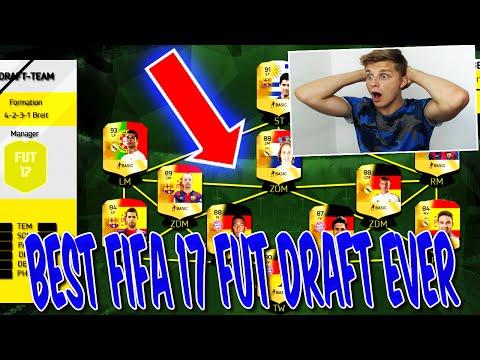 BEST FIFA 17 FUT DRAFT EVER!! - ULTIMATE TEAM (DEUTSCH)
