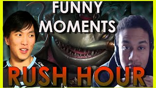 Funny moments - Tahm Kench and Rush Hour