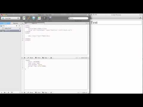 DigitalDojos HTML Tutorial #3: Div Tags & Intro To CSS