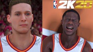 NBA 2K20 MyCareer #1 - Creation & First Game Drama!