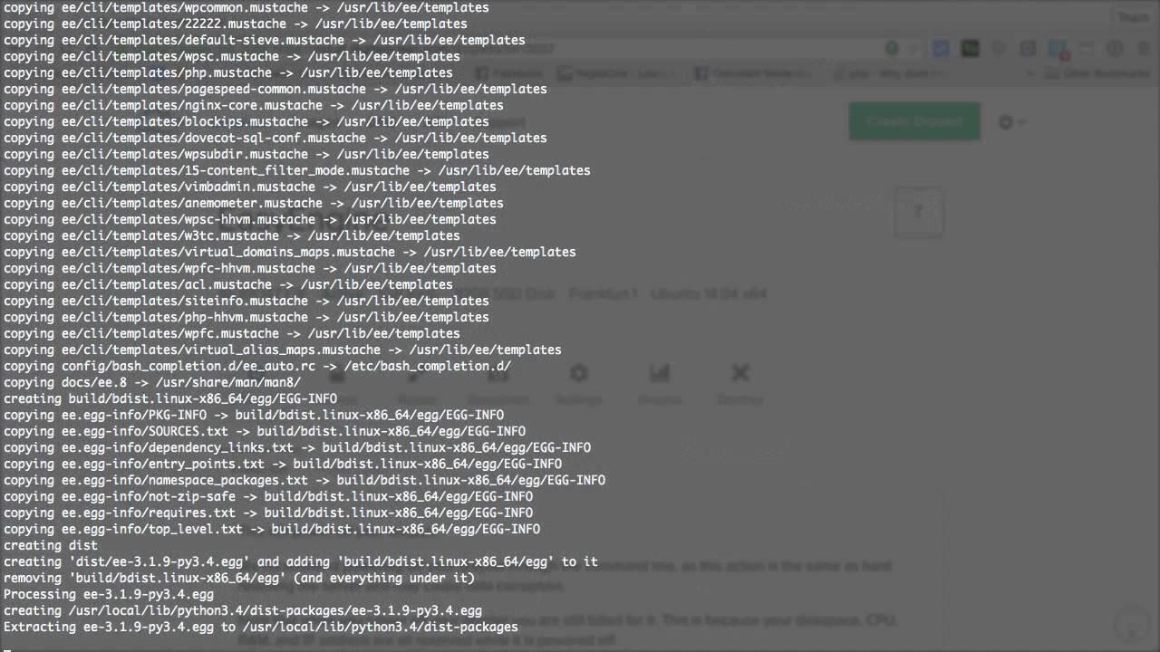 [EasyEngine - 02] Cài đặt script