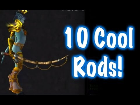 10 Cool Fishing Rods & Location Guide (World Of Warcraft)