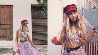 MUSIC FESTIVAL GET READY WITH ME // Hair, Outfit & Makeup Tips ft. L'Oreal Hair