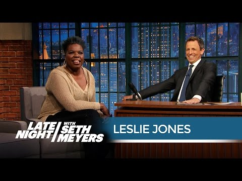 How Leslie Jones Handles Her Twitter Haters - Late Night with Seth Meyers