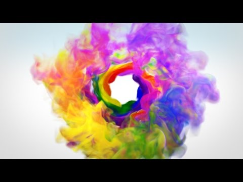 after effects template colorful smoke logo reveal youtube