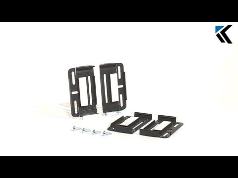 montageanleitung kennzeichenhalter evolution 3 doovi. Black Bedroom Furniture Sets. Home Design Ideas