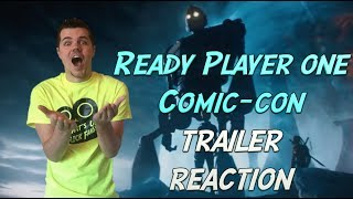 Ready player one comic-con trailer reaction