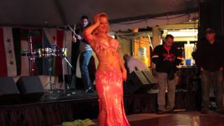 SOLO BELLY DANCER AT ARAB AMERICAN FESTIVAL IN YOUNGSTOWN OHIO (NEW 2012))