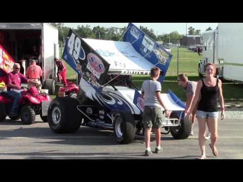 Shawn Dancer Racing Winter Nationals Trailer 2014