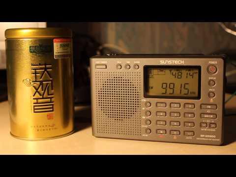 Sunstech RP-DS800 (TECSUN PL-380) Shortwave reception 10 frequencies