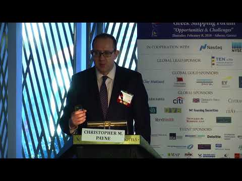 2018 9th Annual Greek Shipping Forum - New Technology and Data Analytics