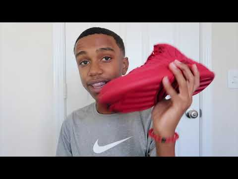 """AIR JORDAN 12 """"GYM RED"""" """"BLACK FRIDAY"""" REVIEW!!! IS IT SUEDE OR LEATHER???"""