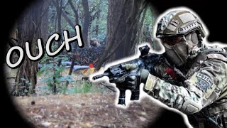 DESTROYING Airsoft Players with G&G CM16 raider 2.0 - Dark Forest ulicoten