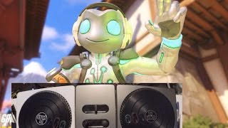 Overwatch - Lucio With DJ Hero Turntable!