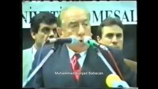 Başbuğ Alparslan TÜRKEŞ - Iman-Ahlak-Ülkü (3 Hilal) 2017 Video