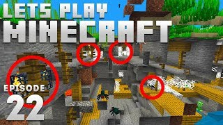 iJevin Plays Minecraft - Ep. 22: QUAD SPAWNER! (1.15 Minecraft Let's Play)