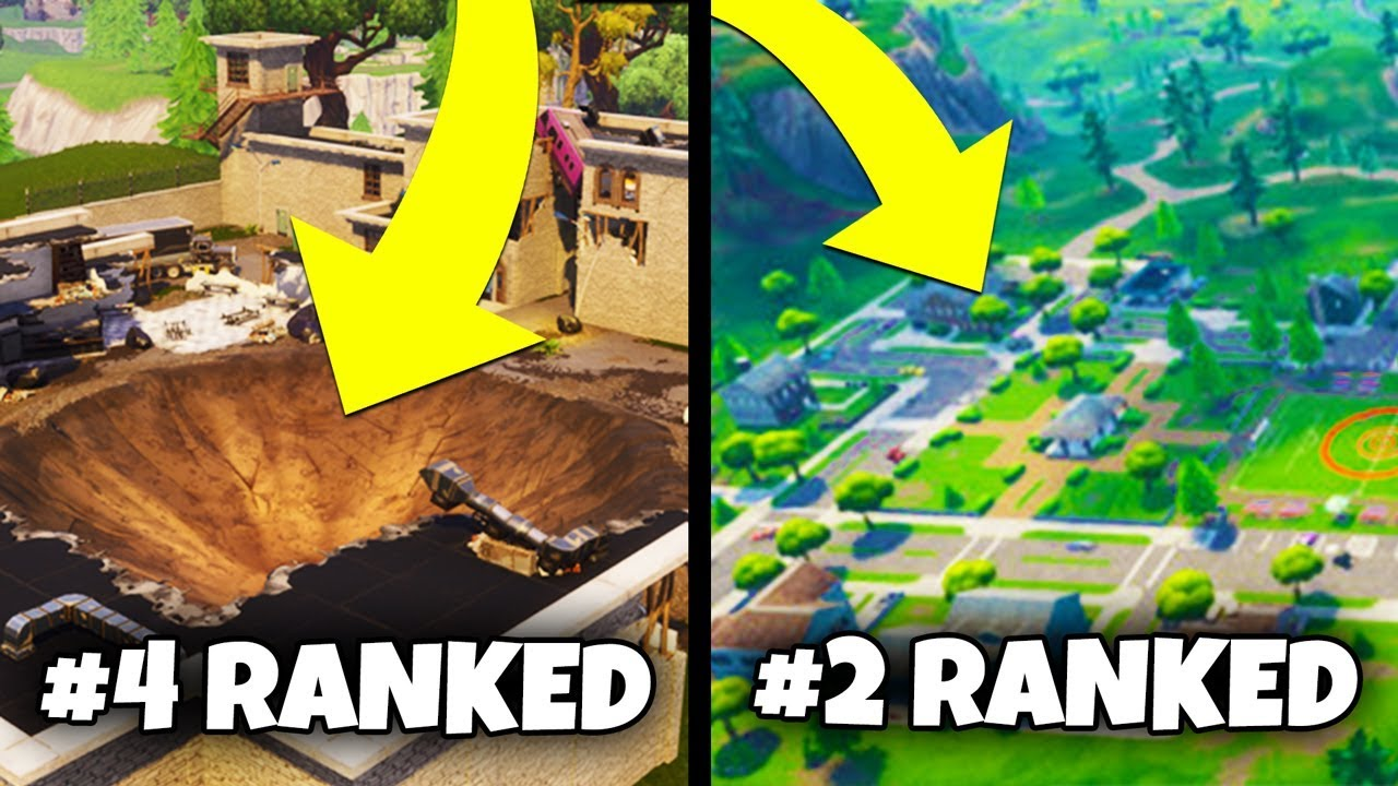 TOP 5 BEST DROP LOCATIONS IN NEW MAP   Fortnite Battle Royale Season     TOP 5 BEST DROP LOCATIONS IN NEW MAP   Fortnite Battle Royale Season 4