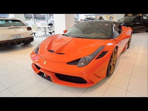 Here's Why A TAILOR MADE Ferrari 458 Speciale is worth $399,000