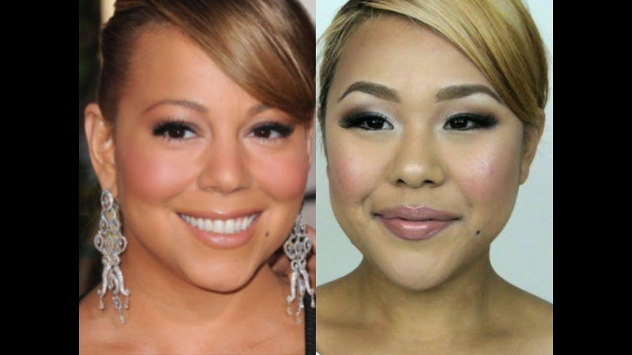 Mariah Carey Inspired Makeup Tutorial マライヤキャリー風メイクアップ , YouTube