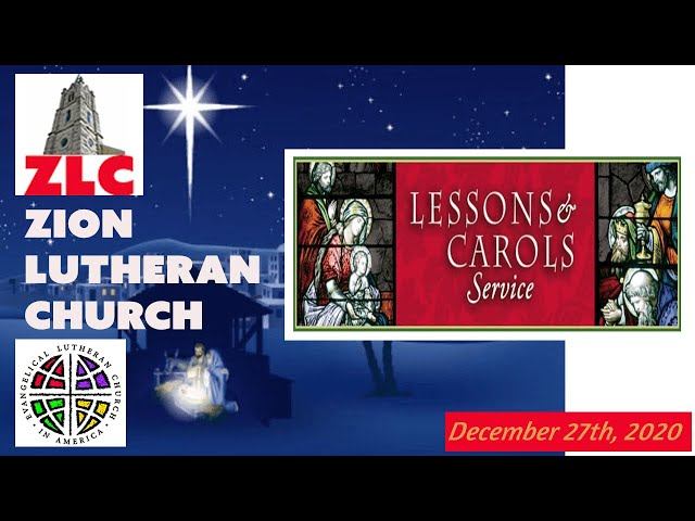 Service - 20201227 - Lessons and Carols Service