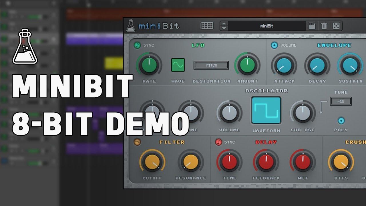miniBit - 8-bit / Chiptune Plugin (VST, AU, AAX) - AudioThing