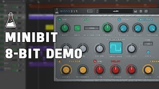 miniBit Update v1.5 - 8-bit/Chiptune Demo (VST, AU, AAX)
