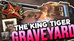 KING TIGER GRAVEYARD [4v4] [SOV] [Lienne Forest] — Full Match of Company of Heroes 2