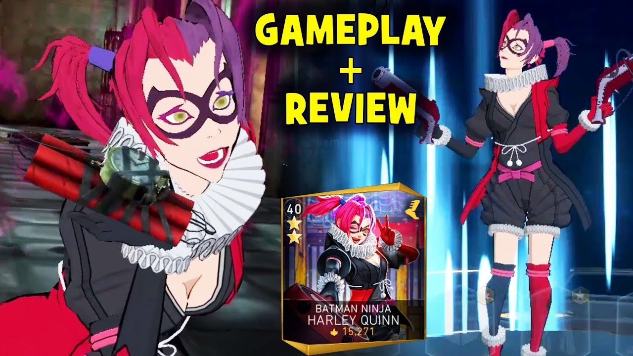 Injustice 2 Mobile Batman Ninja Harley Quinn Gameplay Review I M Surprised How Good She Is Youtube