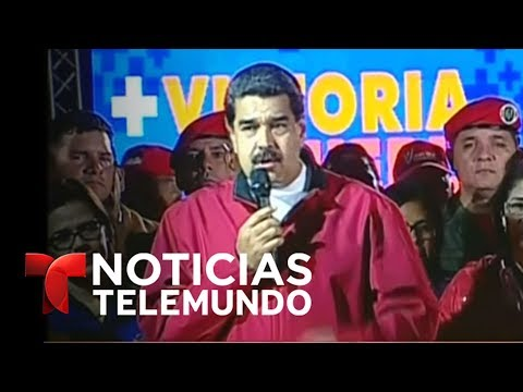 Anuncio del Consejo Nacional Electoral sobre Asamblea Nacional Constituyente | Noticias | Telemundo