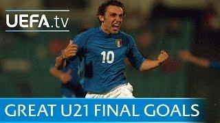 Pirlo, Raúl, Thiago... great U21 final goals