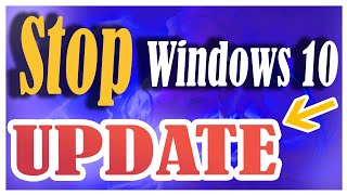 How to stop Windows 10 update permanently in 2019 | How to disable windows update permanently