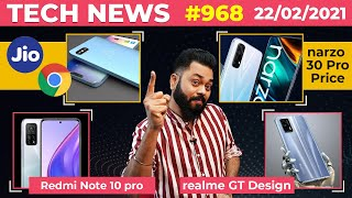 Redmi Note 10 Pro First Look,narzo 30 Pro Under 15K,Jio Google Phone,realme GT Design,Tab S7-#TTN968