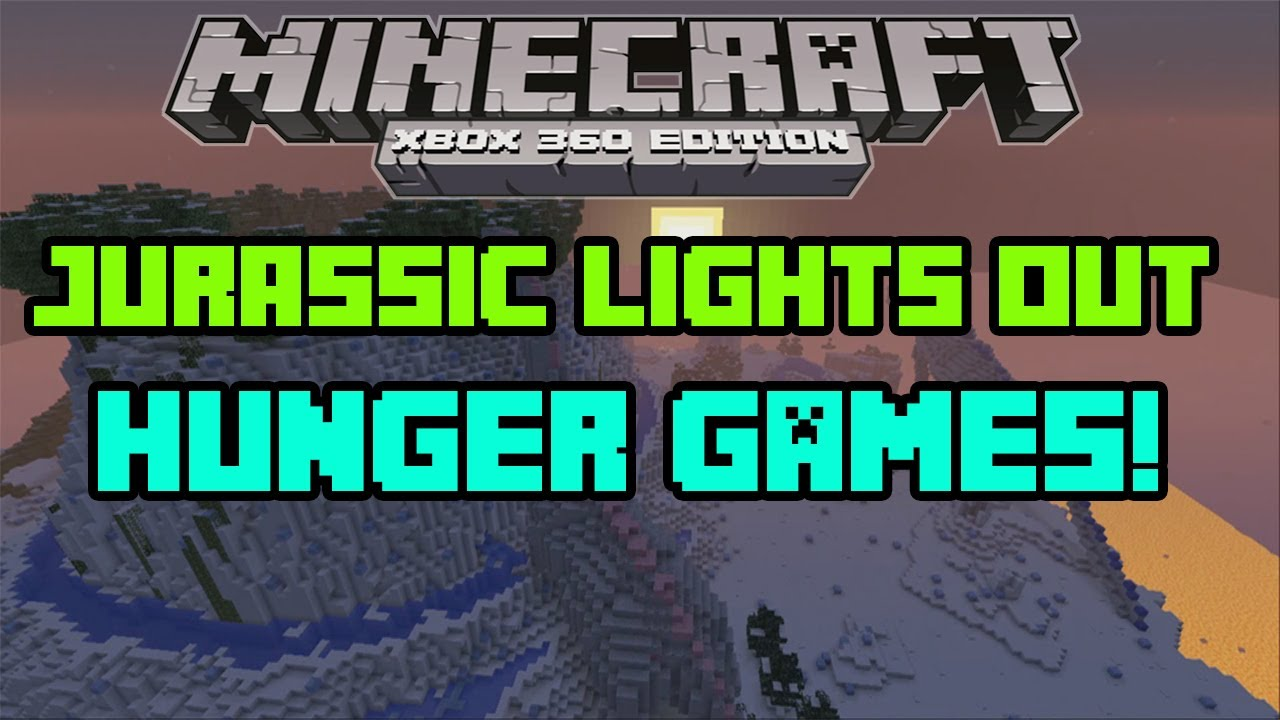 Minecraft (Xbox 360) - Jurassic Lights Out Hunger Games